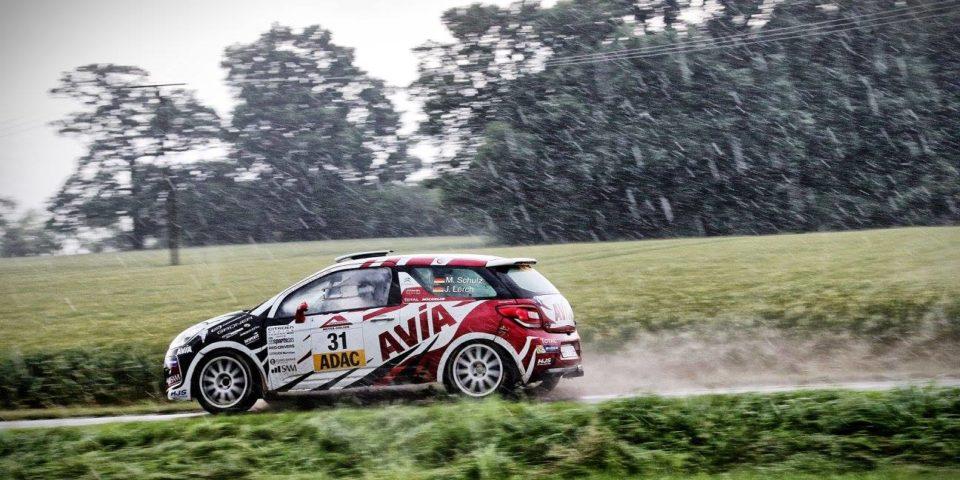 Melanie Schulz – Rallye Stemweder Berg regen