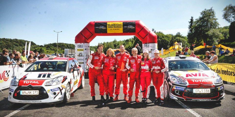 Melanie Schulz – Rallye Wartburg Podium