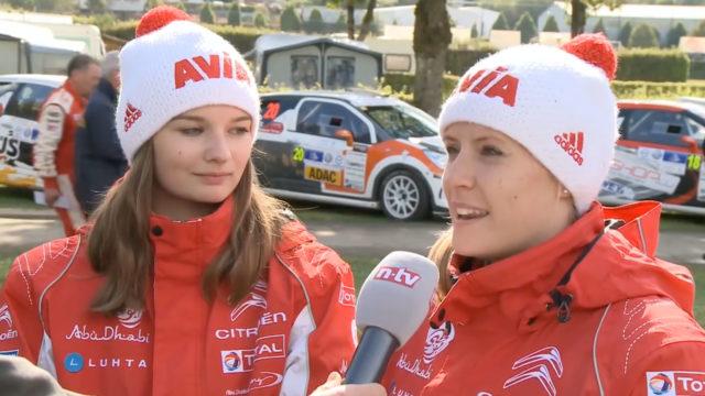 Melanie Schulz Rallye Luxemburg