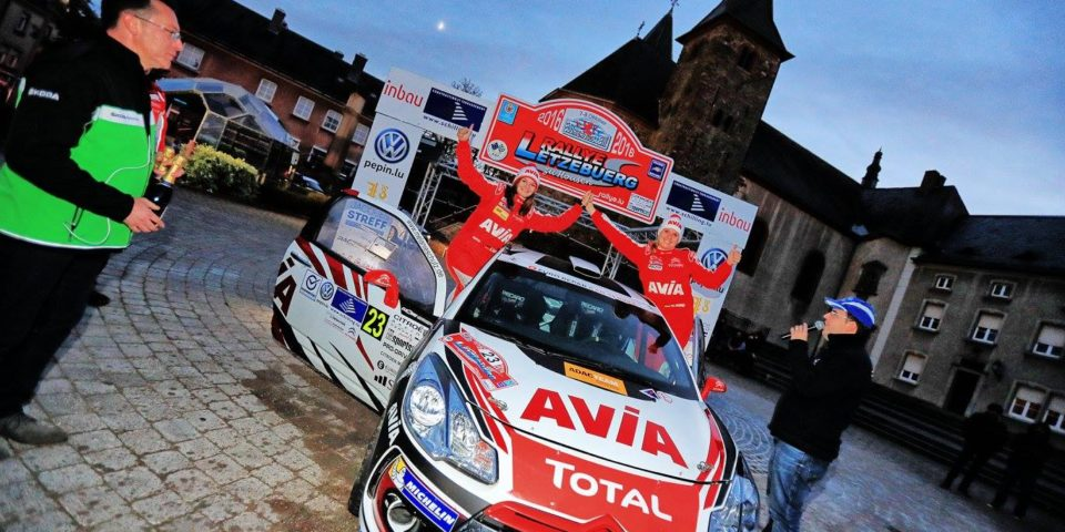 Melanie Schulz – Rallye Luxemburg Ziel