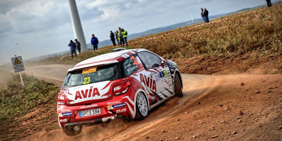 Melanie Schulz – Rallye Luxemburg