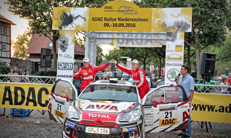 Melanie Schulz – Rallye Niedersachsen Podium