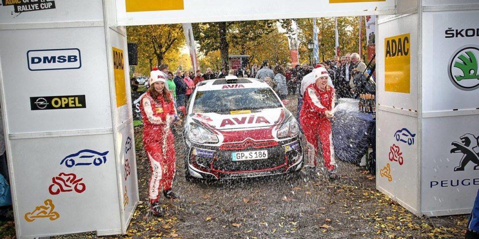 Melanie Schulz – 3 Staedte Rallye Ziel