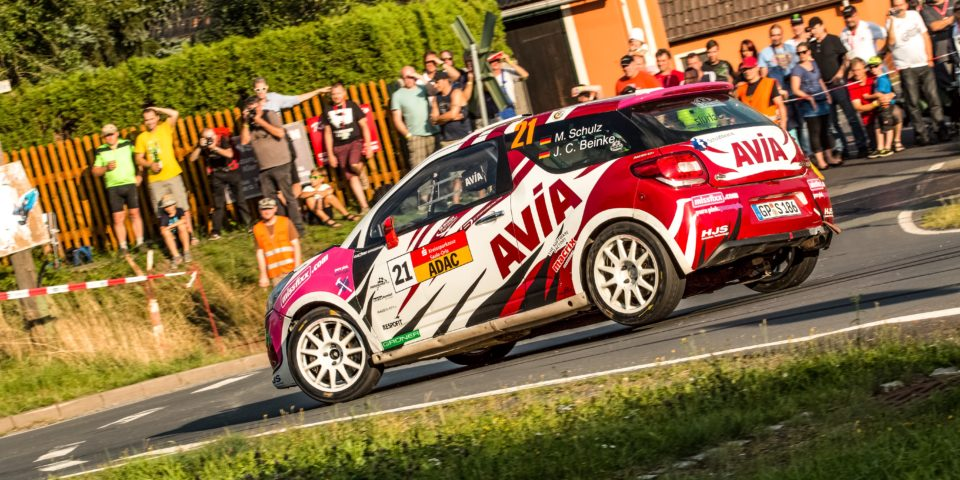 Melanie Schulz – Rallye Thüringen